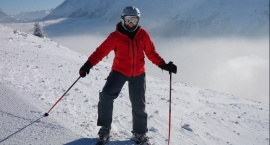 Zawody narciarskie w Górznie
